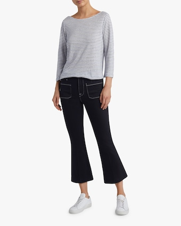 Frame Le Bardot Crop Flare Jeans 2