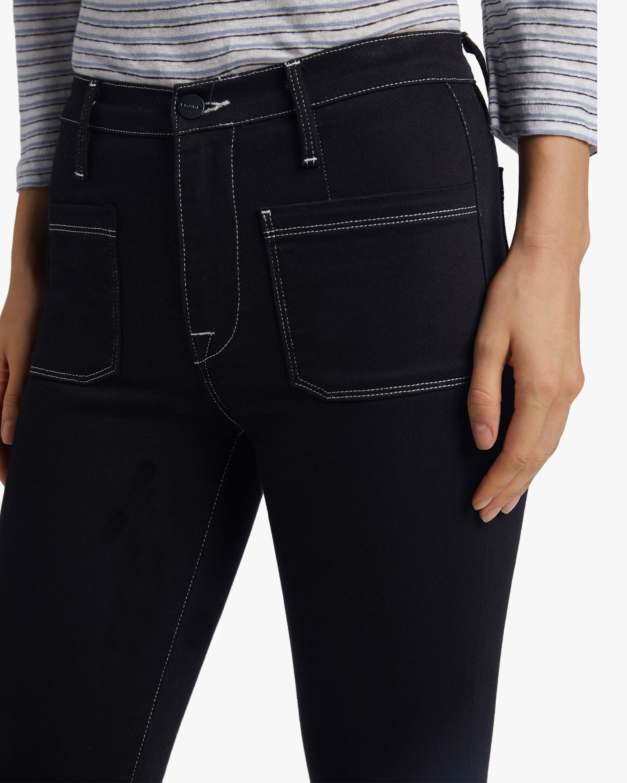 Frame Le Bardot Crop Flare Jeans 3
