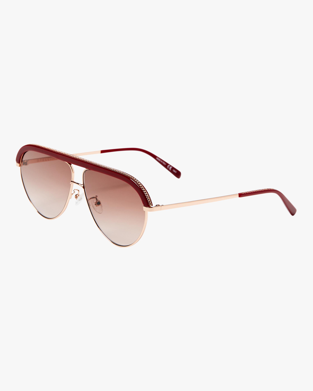 SC0207S Chain Aviator Sunglasses