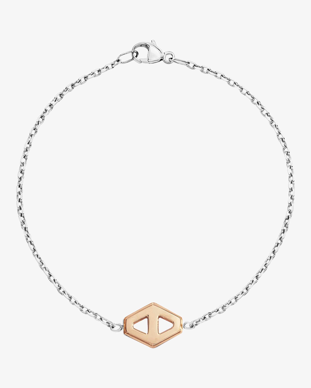 Keynes Signature Hexagon Bracelet