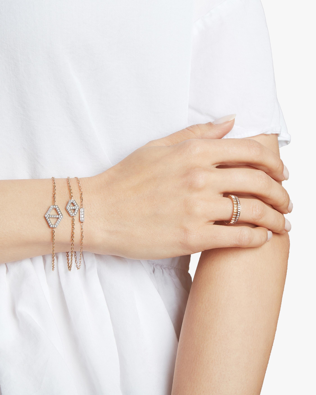 Keynes Diamond Signature Hexagon Bracelet