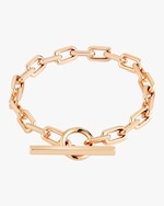 Walters Faith Saxon Solid Chain Link Toggle Bracelet 0