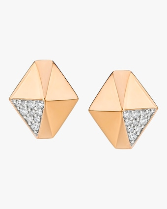 Walters Faith Sydney Diamond Origami Stud Earrings 2