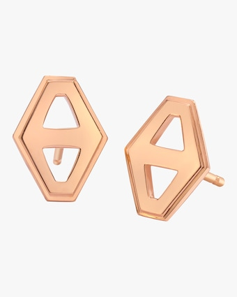Walters Faith Keynes Hexagon Stud Earrings 1