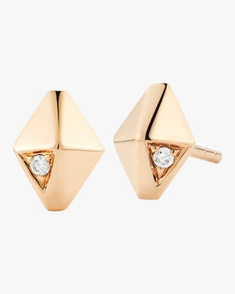 Walters Faith Sydney Diamond Origami Stud Earrings 1