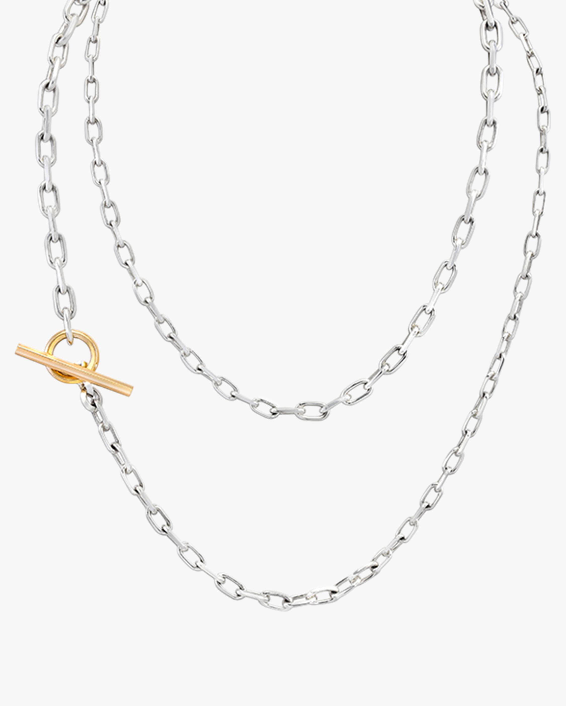 Saxon Graduated Chain Link Necklace