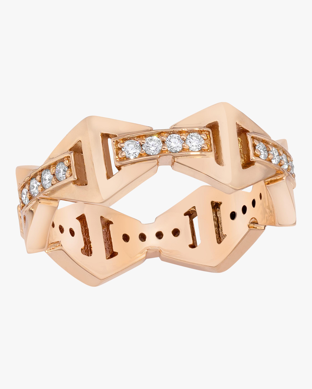 Keynes Diamond Hexagon Ring