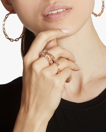Saxon Chain Link Ring