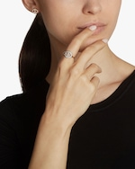 Walters Faith Keynes Diamond Two Tone Hexagon Ring 2