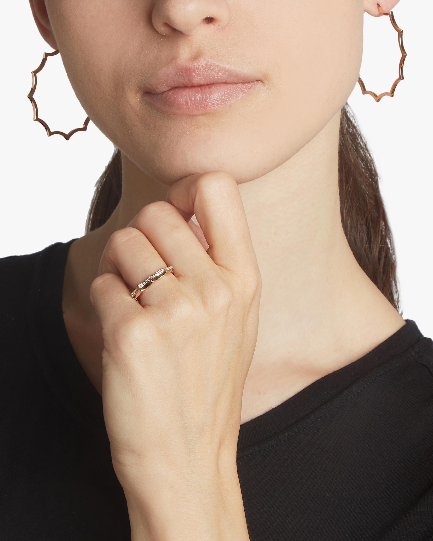 Clive Diamond Scalloped Ring