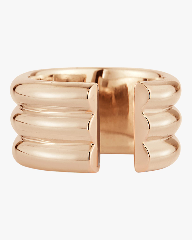 Thoby Three Row Tubular Ring