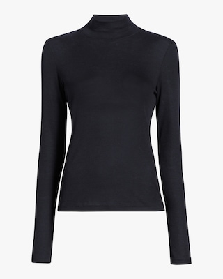 Kari Rib Turtleneck Top