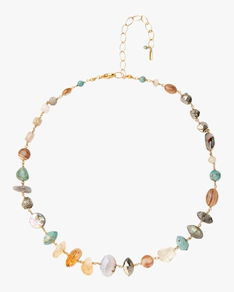Citrine Mix Necklace