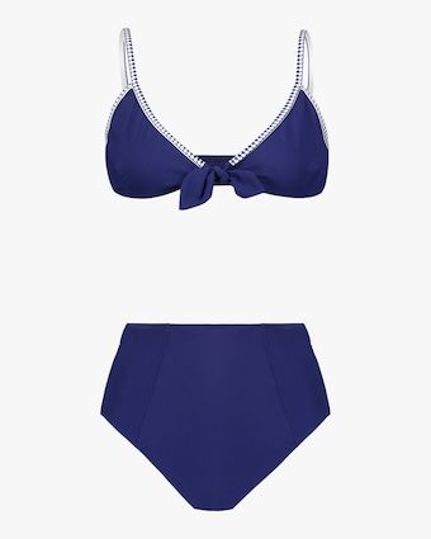 Lem Lem Sofia Tie-Front Bikini Top 1