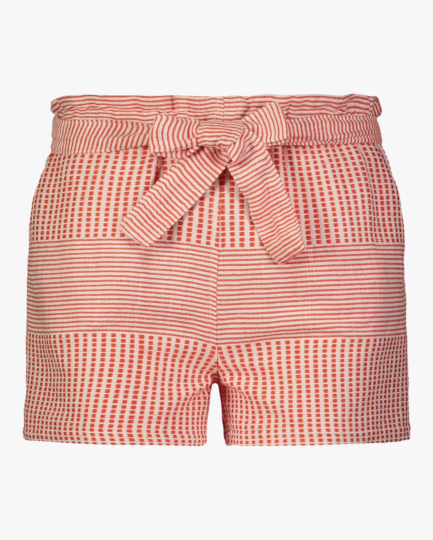 Semira Tie-Belt Shorts