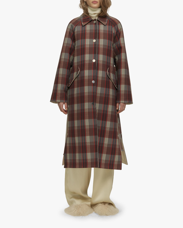 Zen Reversible Checked Coat