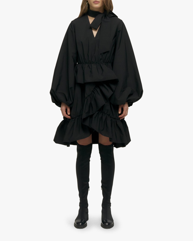 Alex Taffeta Wrap Dress