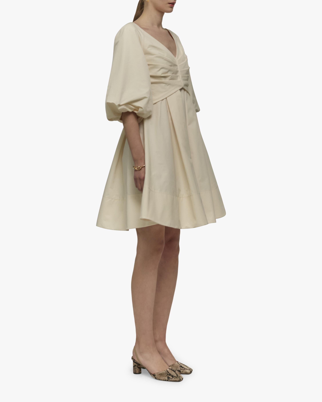 Gathered Mini Dress