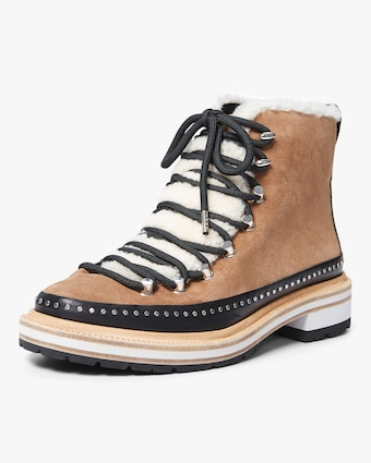 Shearling Compass Boot