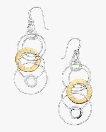 Chimera Classico Hammered Jet Set Earrings