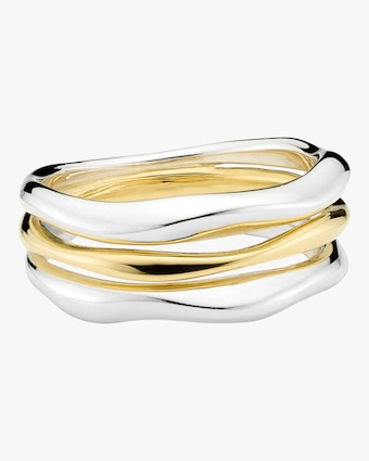 Chimera Classico Triple-Band Squiggle Ring