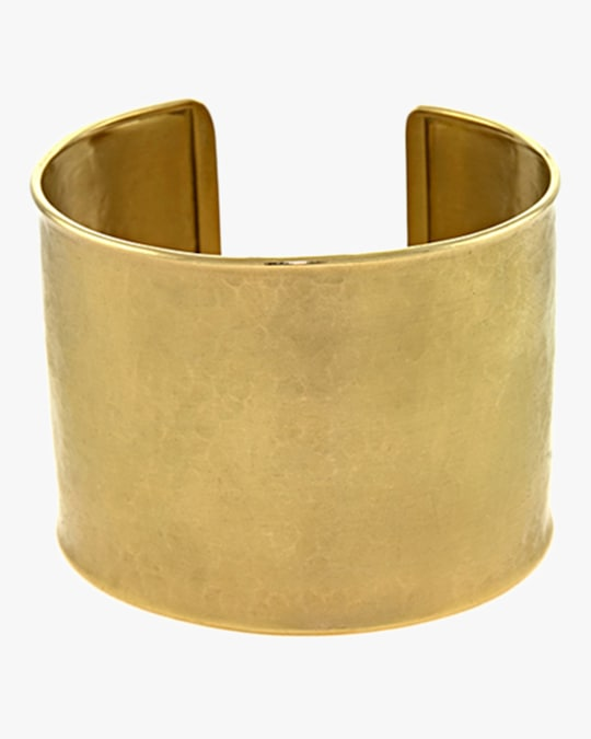 Ashley Morgan Yellow Gold Cuff Bracelet 0