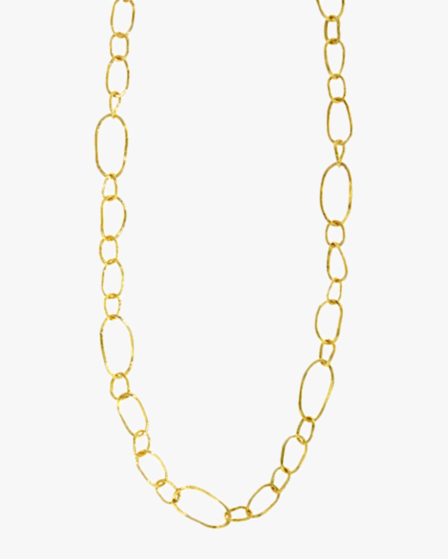 Ashley Morgan Textured Mixed Link Necklace 2