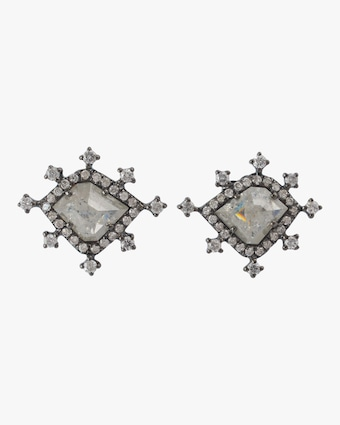 Ice Diamond Stud Earrings