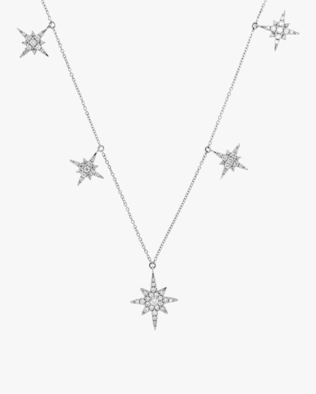 Compass Rose Diamond Necklace