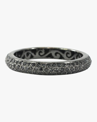 Ashley Morgan Black Diamond Tyre Ring 2