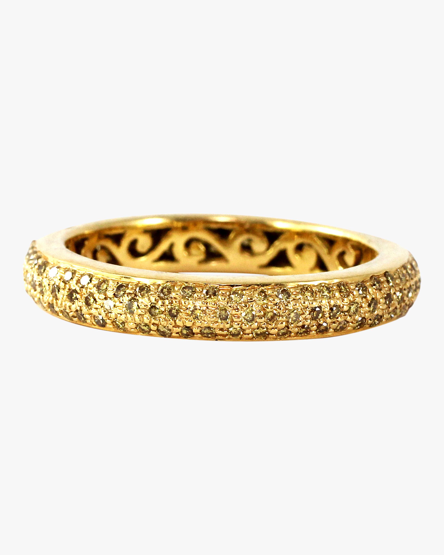 Ashley Morgan Yellow Diamond Tyre Ring 2