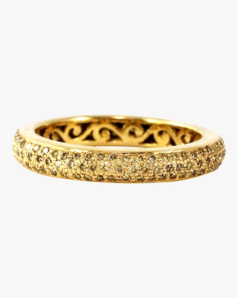 Ashley Morgan Yellow Diamond Tyre Ring 2
