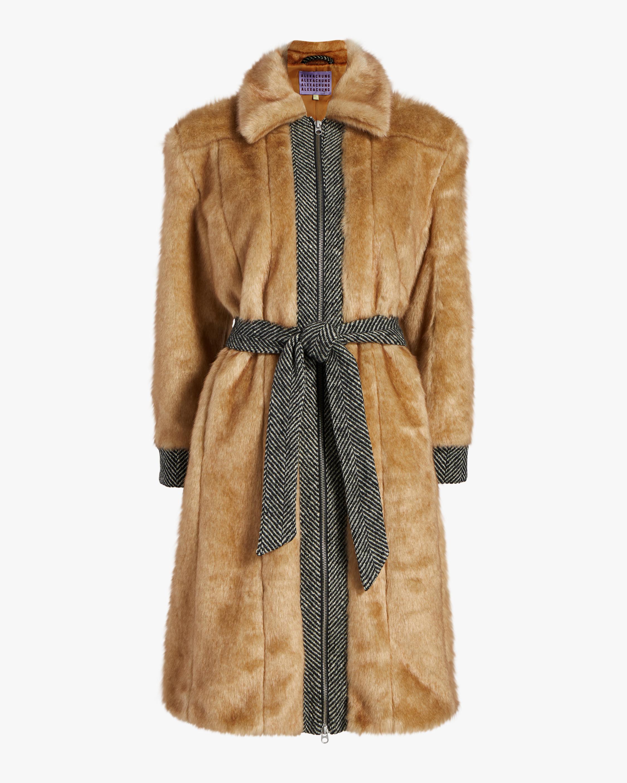 Boss Faux Fur Coat