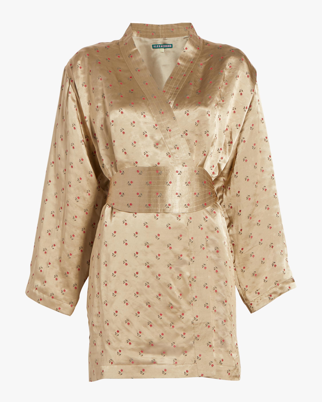 Scallop Tulip Kimono Dress