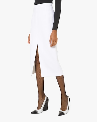 Michael Kors Collection Slit Pencil Skirt 1