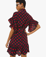 Michael Kors Collection Ruffle Sleeve Shirt Dress 1