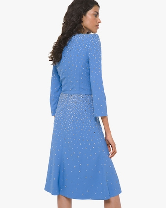 Michael Kors Collection Embellished Flare Dress 2