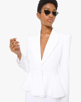 Michael Kors Collection Peplum Jacket 1
