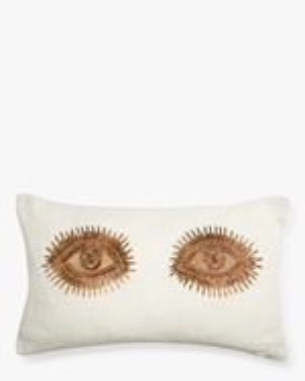 Jonathan Adler Muse Eyes Throw Pillow 0