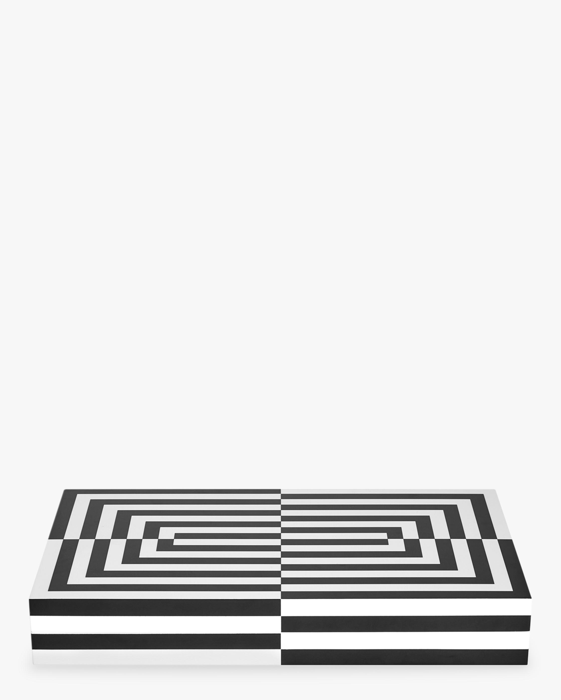 Jonathan Adler Op Art Backgammon Set 1