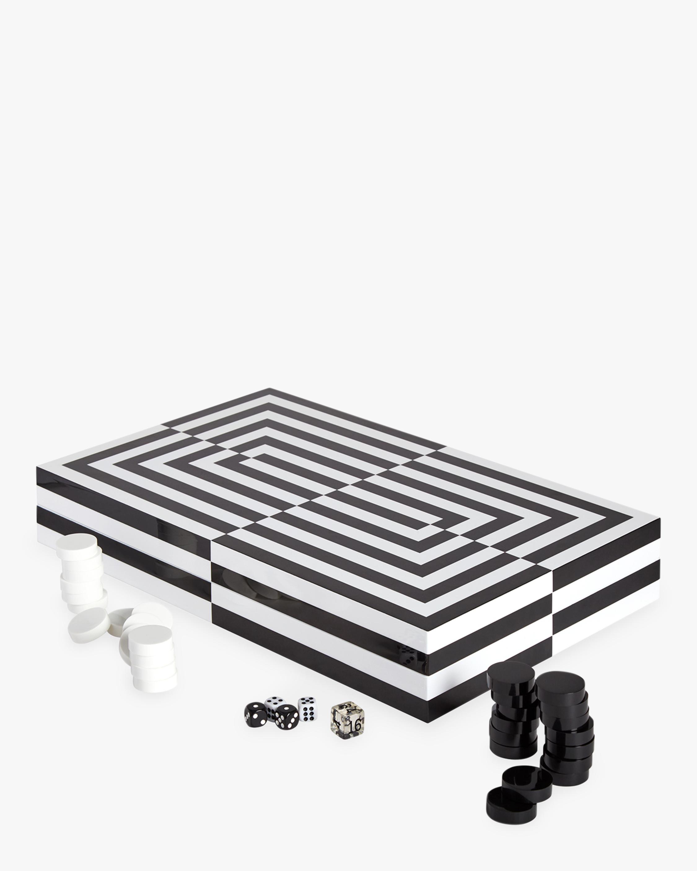 Op Art Backgammon Set
