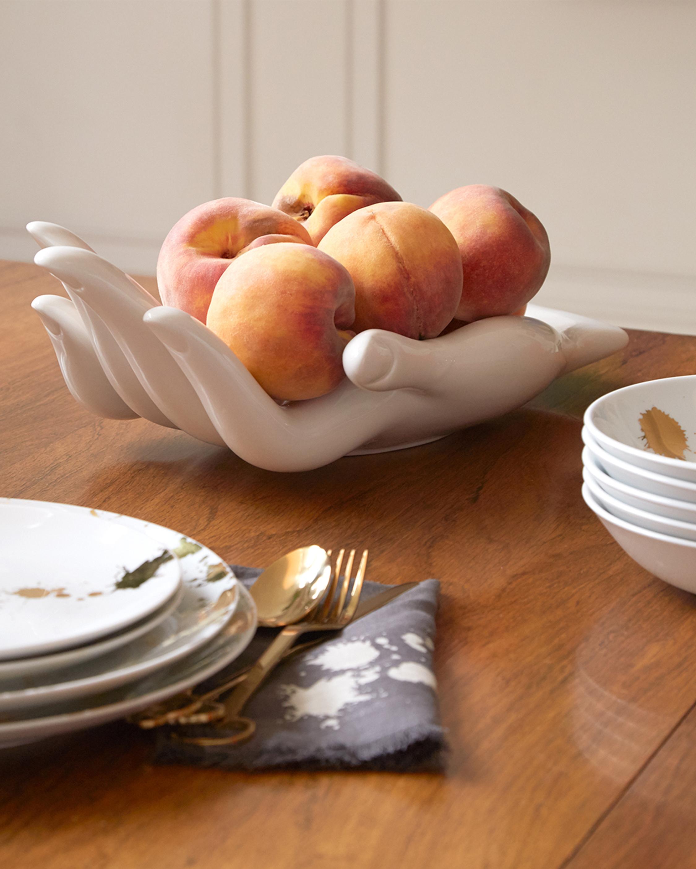 Jonathan Adler Gilded Eve Fruit Bowl 3