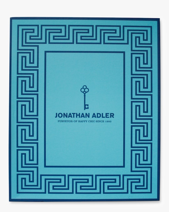 Jonathan Adler Charade Greek Key Frame 4x6 1