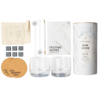 Atlantic Folk Rum Lover's - Accessory & Tasting Kit 2