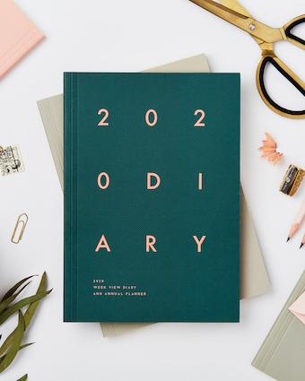 Block Soft Cover 2020 Diary
