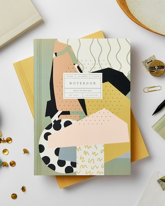 Mosaic Lay Flat Notebook