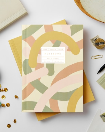 Mallow Lay Flat Notebook
