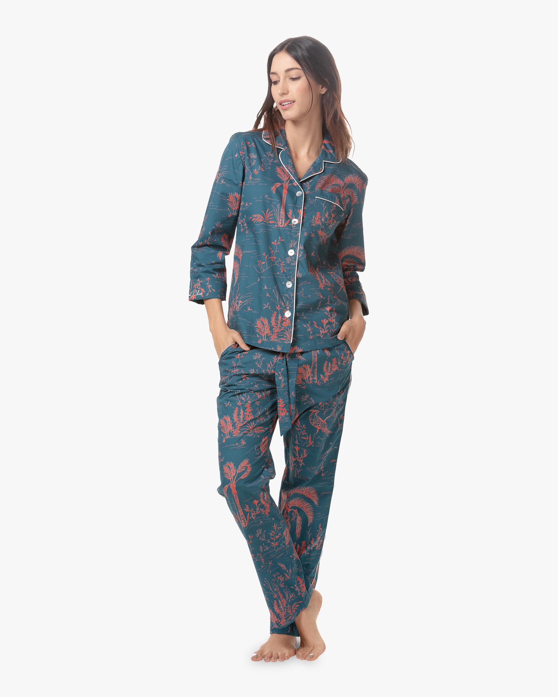 The Lazy Poet Emma Classic Long Pajama Set 0