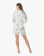 The Lazy Poet Lola Linen Belted Robe 1