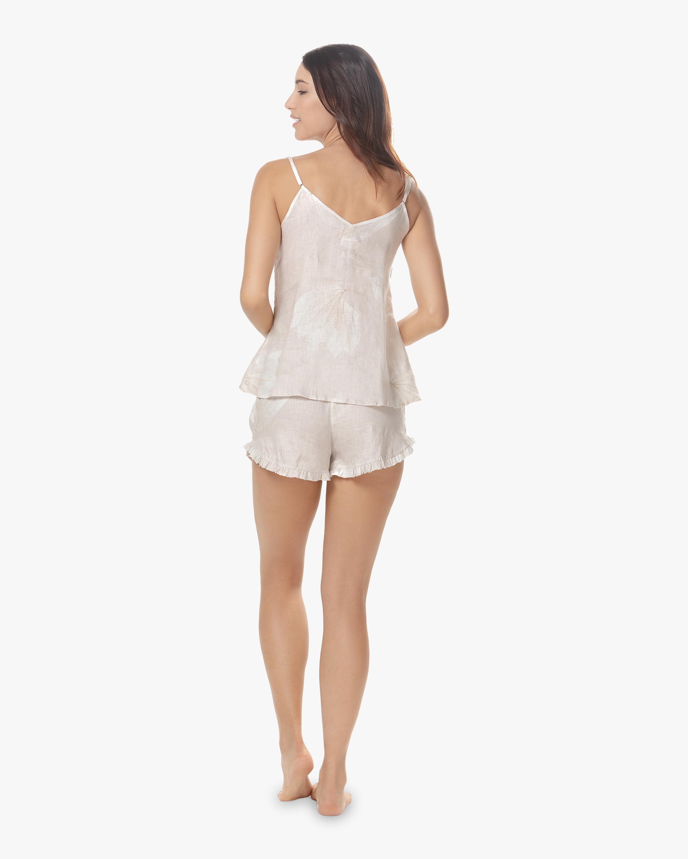 The Lazy Poet Rosie Linen Camisole Shorts Pajama Set 1